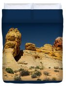 Sandstone Fortress Valley Of Fire Duvet Cover