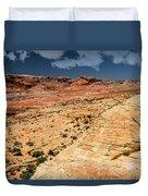 Sandstone Landscape Valley Of Fire Duvet Cover