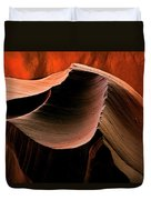 Sandstone Melody Duvet Cover by Mike  Dawson