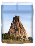 Sandstone Spires In Garden Of The Gods Duvet Cover