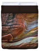 Sandstone Strata - Abstract Duvet Cover