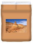 Sandstone Tent Rock Duvet Cover
