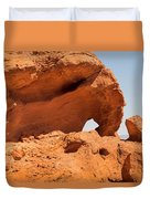 Sandstone Wonder Valley Of Fire Duvet Cover
