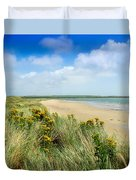 Sandunes At Fethard, Co Wexford, Ireland Duvet Cover