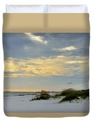 Sandy Alabama Beach Duvet Cover