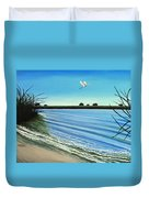 Sandy Beach Duvet Cover