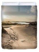 Sandy Beach Haven Duvet Cover