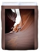 Sandy Canyon Duvet Cover