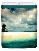 Sandy Cay Duvet Cover