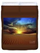 Sandy Desert Duvet Cover