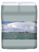 Sandy Neck Cottage Colony Duvet Cover