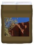 Sandy Rock Duvet Cover