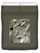 Sandy Seashells Duvet Cover