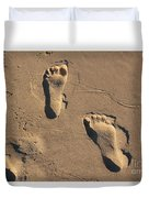 Sandy Toes Duvet Cover
