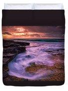 Sandys At Dawn Duvet Cover
