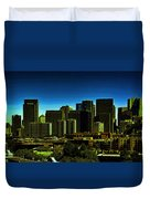 Sanfrancisco Sky Line Duvet Cover