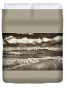 Sangre De Cristo Mountains Duvet Cover