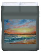 Sangria Beach Duvet Cover