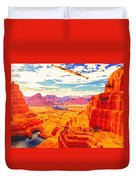 Sangry Valley Duvet Cover