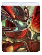 Sanguine Abstract Duvet Cover