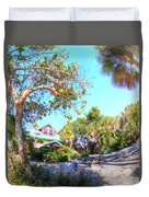 Sanibel And Captiva Visitor Center Iv Duvet Cover