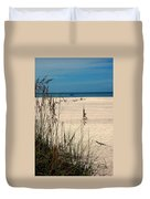 Sanibel Island Beach Fl Duvet Cover