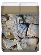 Sanibel Island Seashells Iv Duvet Cover