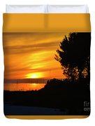 Sanibel Island Sunset Two Duvet Cover