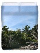 Sanibel Light And Driftwood Duvet Cover
