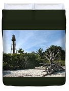 Sanibel Light And Driftwood Duvet Cover