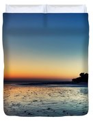 Sanibel Sunrise Duvet Cover