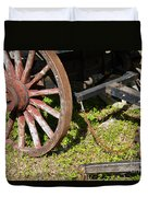 Sanibel Village Wagon Wheels Duvet Cover