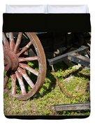 Sanibel Village Wagon Wheels Duvet Cover