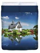 Sanphet Prasat Palace, Thailand Duvet Cover
