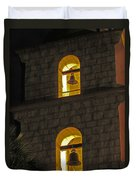 Santa Barbara Mission Bell Tower Duvet Cover