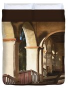 Santa Barbara Mission Duvet Cover