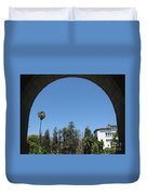 Santa Barbara Sky Duvet Cover