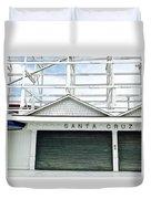 Santa Cruz, California  Duvet Cover