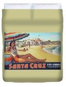 Santa Cruz For Youz Duvet Cover