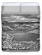 Santa Cruz Lake, New Mexico, April 18, 2016 Duvet Cover