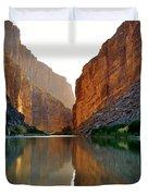 Santa Elena Canyon Duvet Cover
