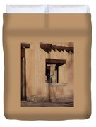 Santa Fe Adobe Window Duvet Cover