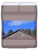Santa Fe At The Grand Canyon Duvet Cover