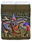 Santa Fe Cowboy Duvet Cover