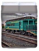 Santa Fe Rail Yard Duvet Cover