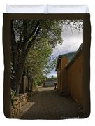 Santa Fe Road Duvet Cover