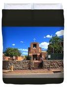Santa Fe - San Miguel Chapel 6 Duvet Cover