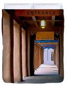 Santa Fe Sidewalk Duvet Cover