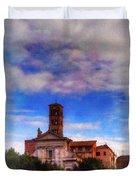Santa Francesca Romana 2 Duvet Cover