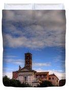 Santa Francesca Romana Duvet Cover